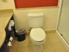 ホリデーイン トイレ